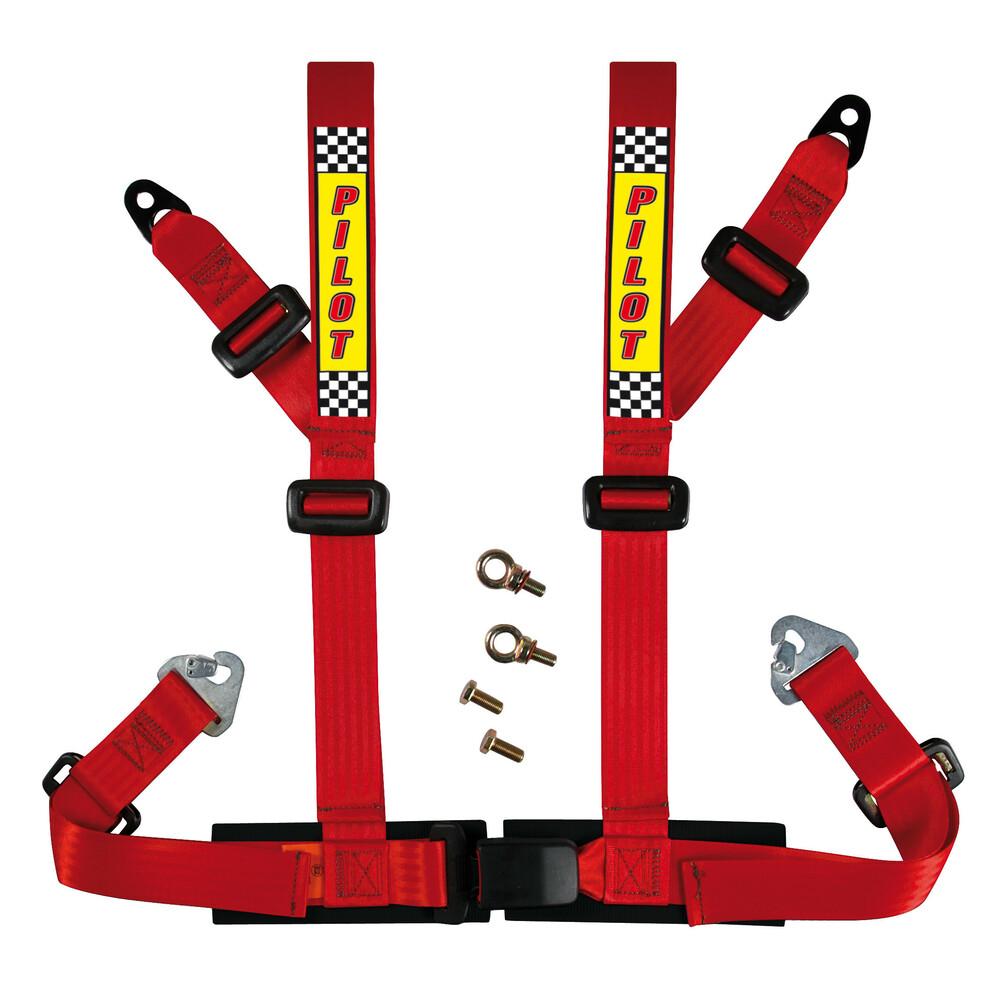 Cintura di sicurezza sportiva - E2 - Rosso