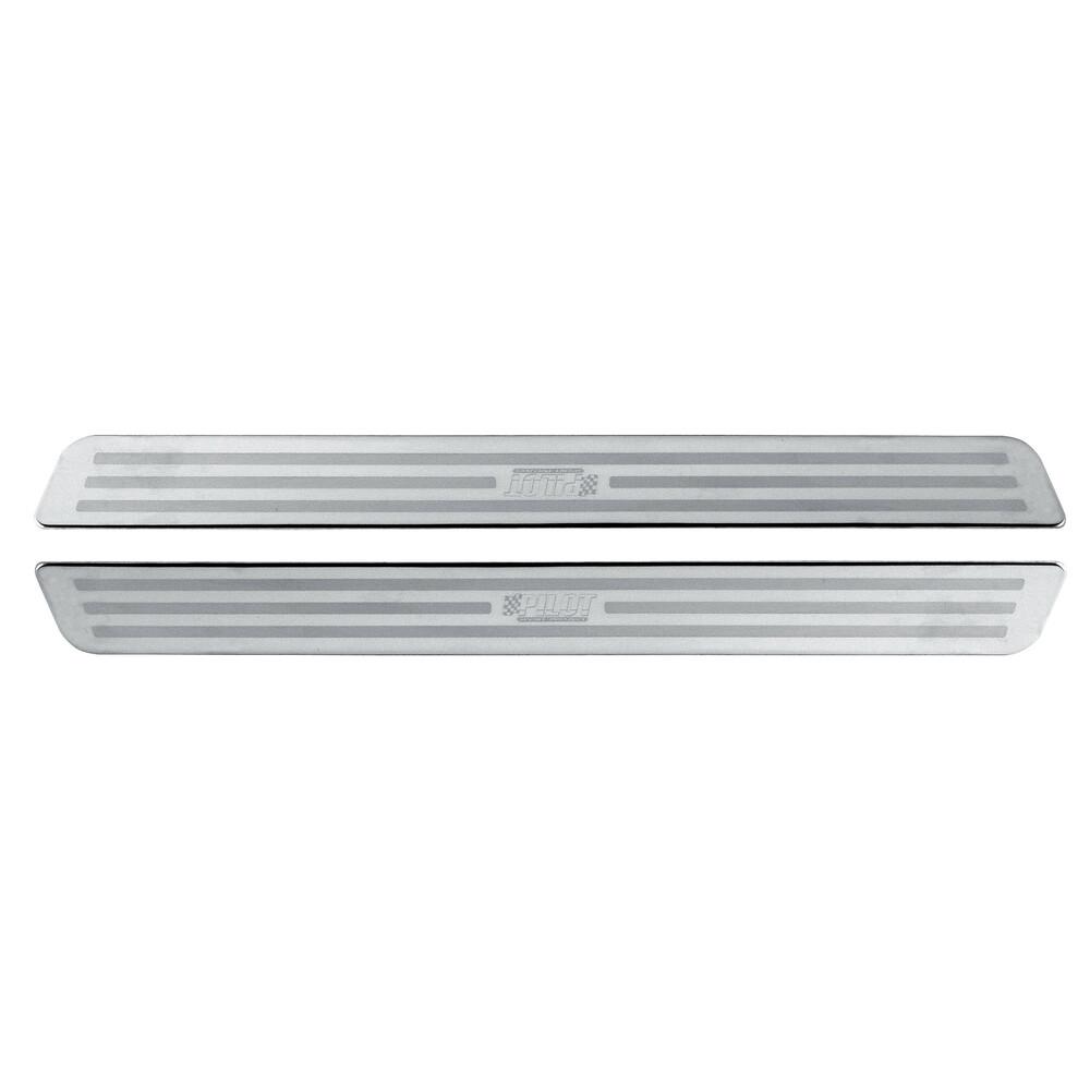 Profili battitacco in acciaio inox - PB-4 - 33x3,2 cm