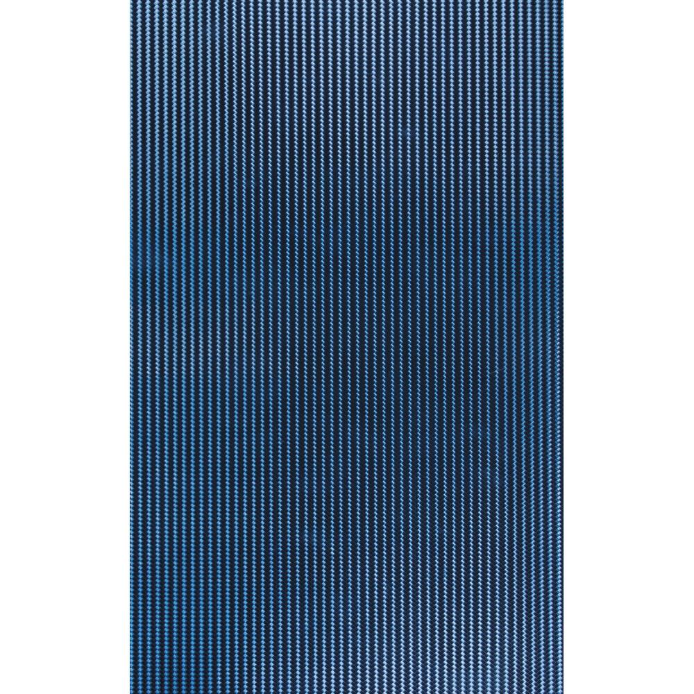 Tri-Dimension, pellicola adesiva cm 48x60 - Carbon-fibre - Blu