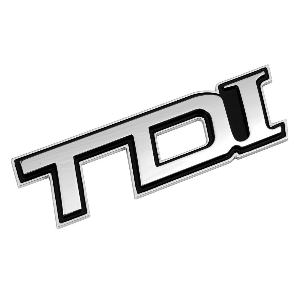 Emblema 3D cromato - TDI