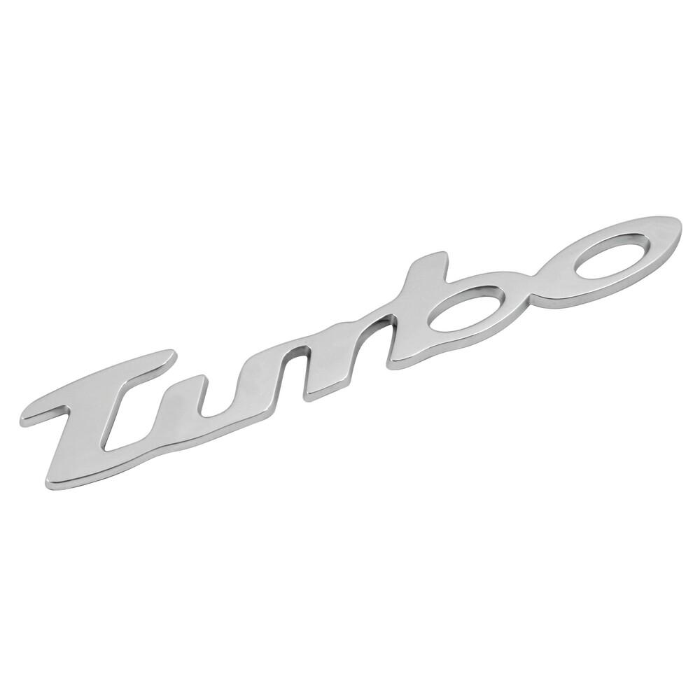 Emblema 3D cromato - Turbo