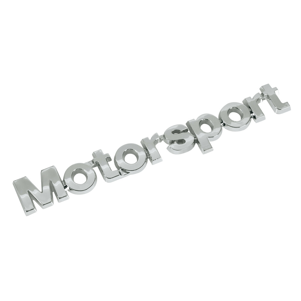 Emblema 3D cromato - Motor Sport