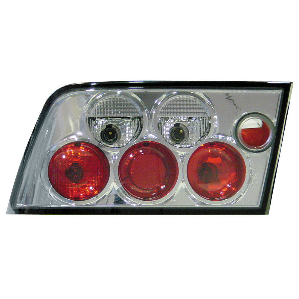 Pair of rear lights -  Opel Calibra (6/90-9/97) - Chrome