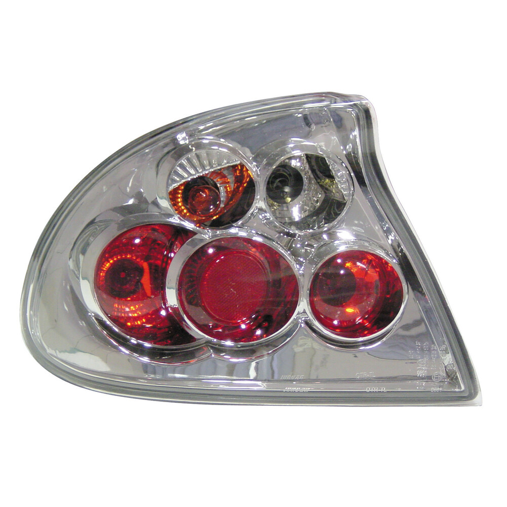 Pair of rear lights -  Opel Tigra (7/94-12/00) - Chrome