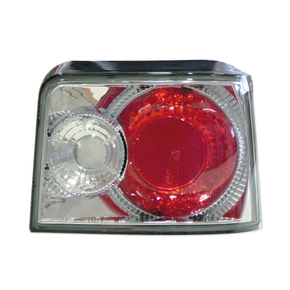 Pair of rear lights -  Peugeot 205 (1/85-9/94) - Chrome
