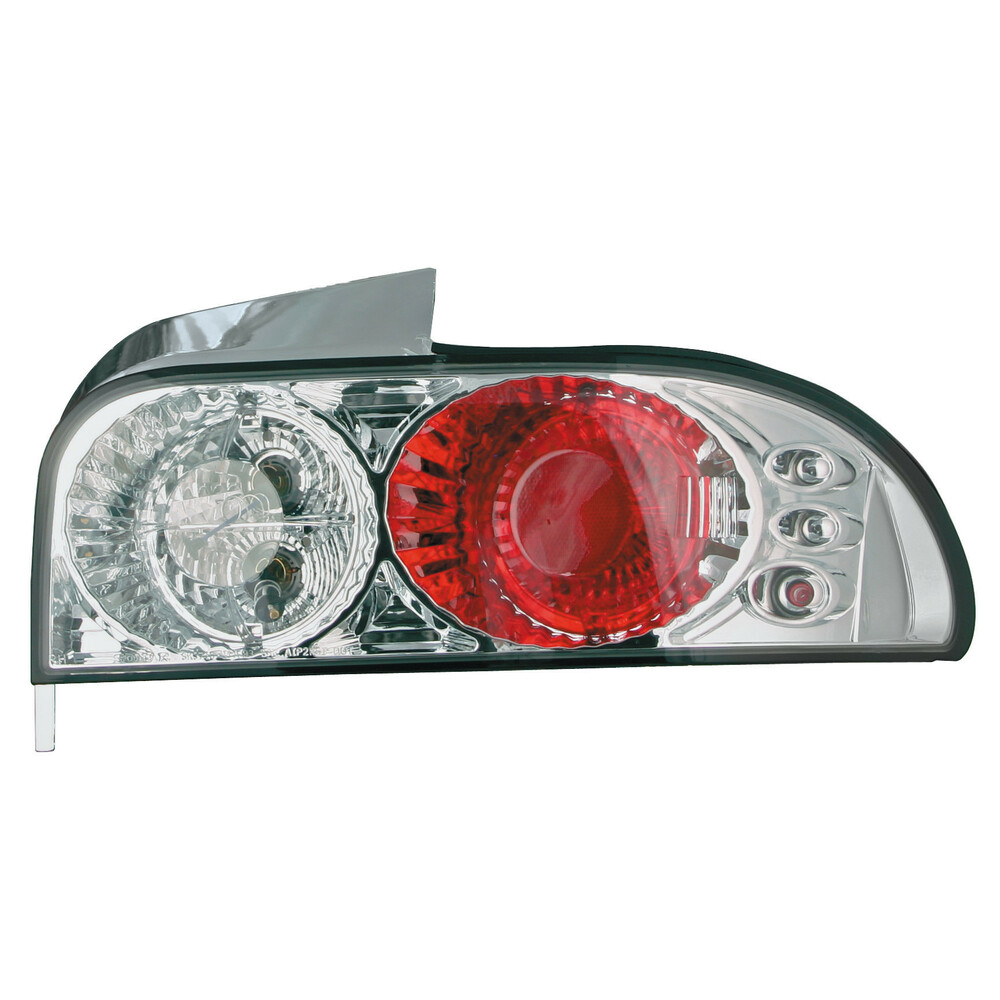 Pair of rear lights, not approved -  Subaru Impreza (8/92-12/00) - Chrome