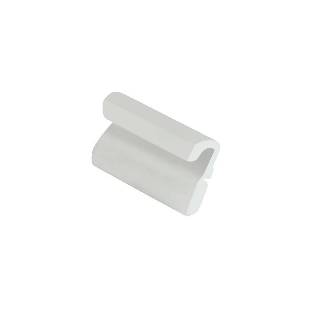 Set 20 clips centrali - Bianco