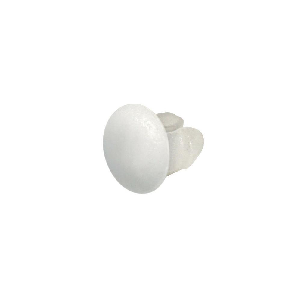 Set 100 bottoncini targa - Bianco
