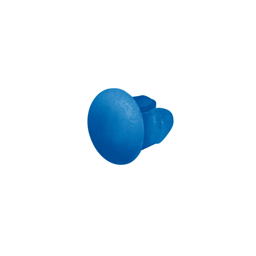 Set 100 bottoncini targa - Azzurro
