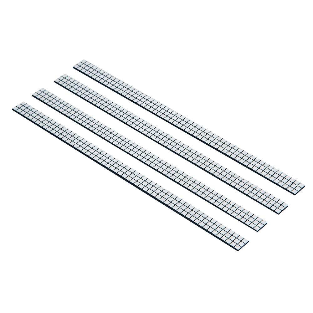 Flex Deco, strisce cromate flessibili, 4 pz