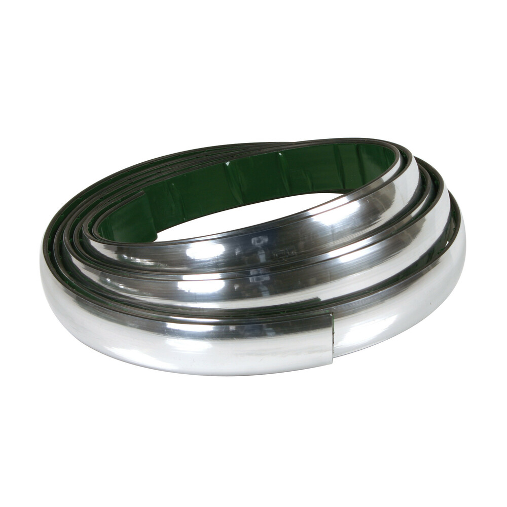Profilo adesivo cromato - 4 m - 35 mm