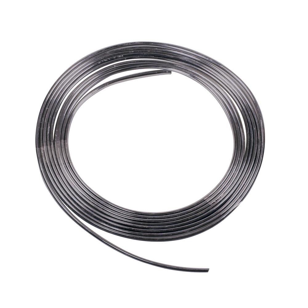 Profilo adesivo cromato nero - 4 m - 4 mm
