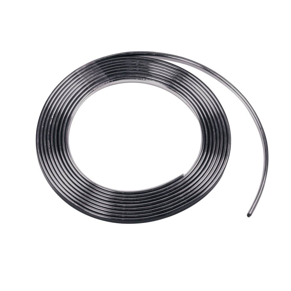 Profilo adesivo cromato nero - 4 m - 9 mm