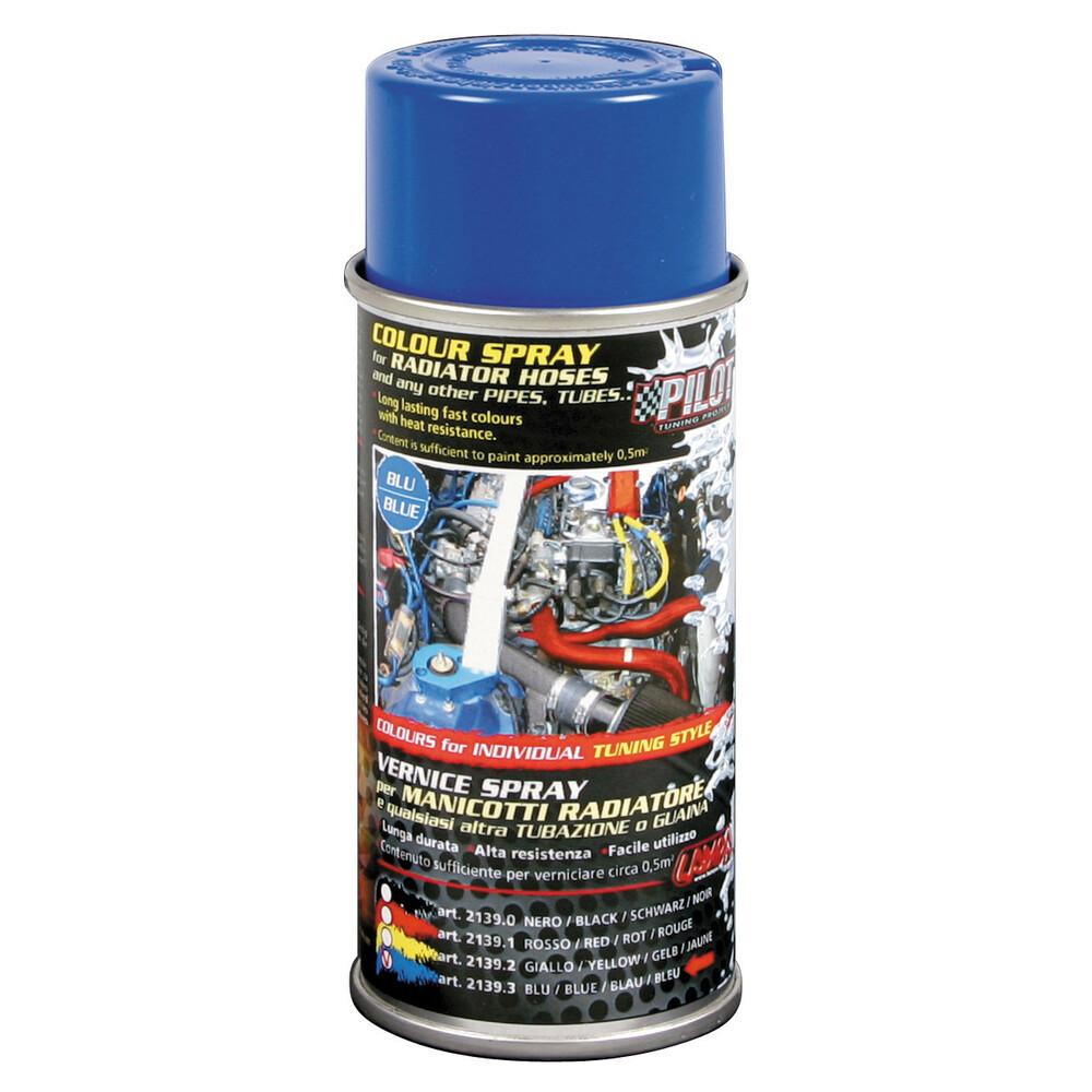 Vernice spray per manicotti radiatore - Blu