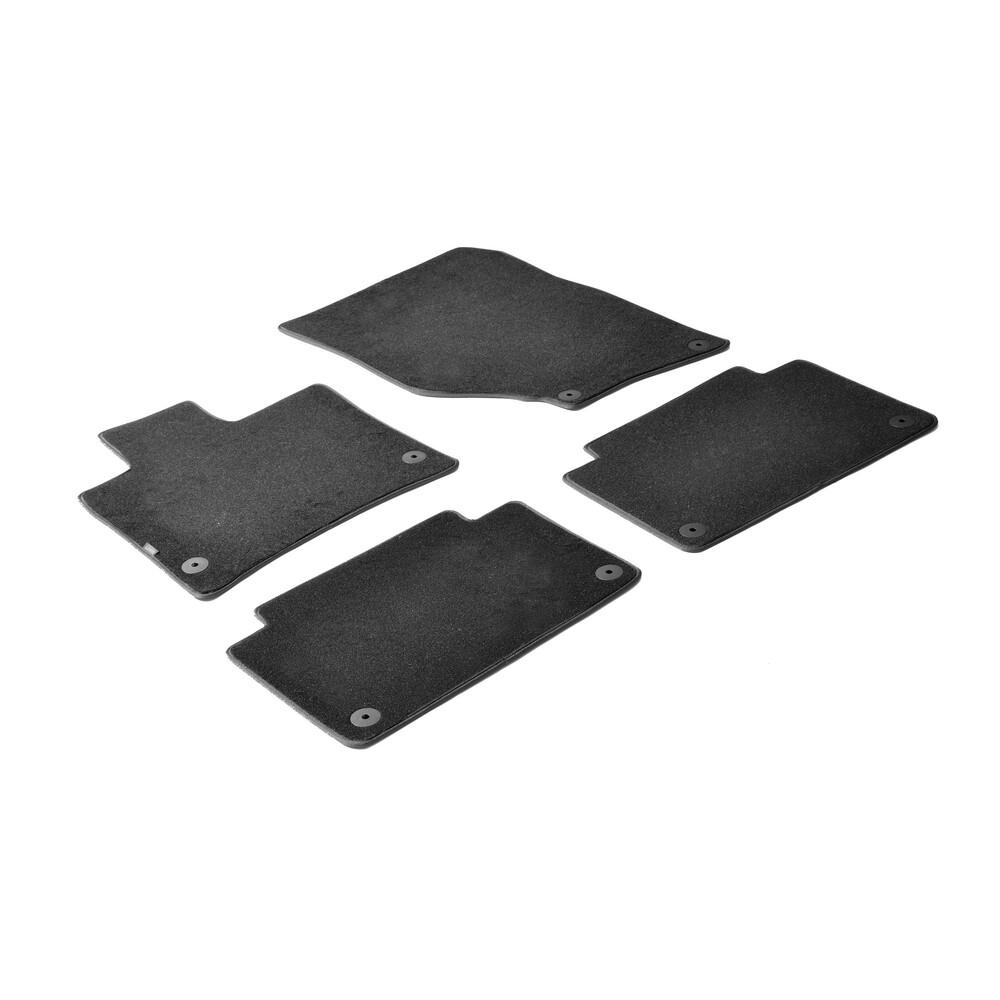 Set tappeti su misura in moquette - Nero -  Audi Q7 (03/06>05/15)