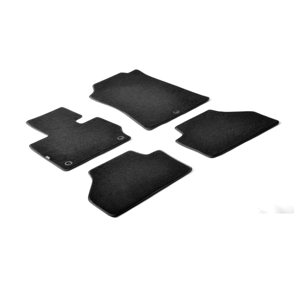Set tappeti su misura in moquette - Nero -  Bmw X3 (E83) (01/04>10/10)
