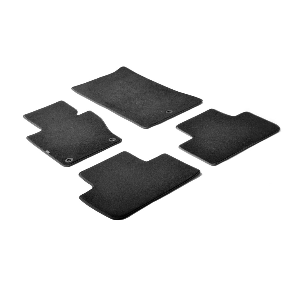 Set tappeti su misura in moquette - Nero -  Bmw X3 (F25) (11/10>)