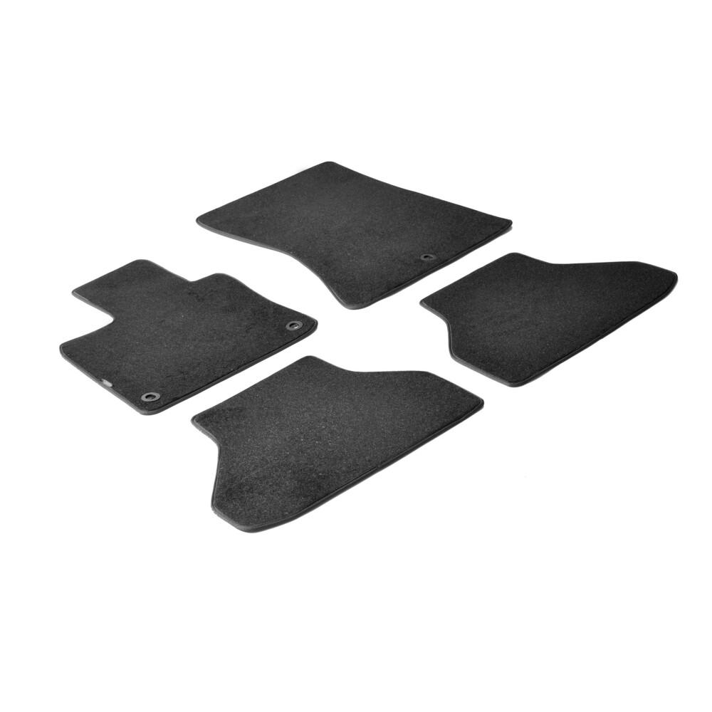 Set tappeti su misura in moquette - Nero -  Bmw X6 (E71) (06/08>11/14)
