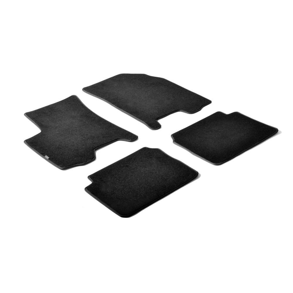 Set tappeti su misura in moquette - Nero -  Chevrolet Aveo 3p (02/05>05/08) -  Chevrolet Aveo 3p (06/08>04/11) -  Chevrolet Aveo