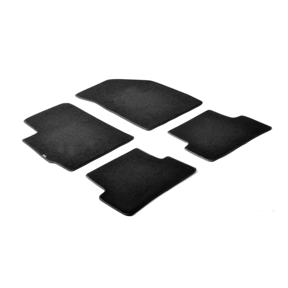 Set tappeti su misura in moquette - Nero -  Chevrolet Aveo 4p (05/11>09/15) -  Chevrolet Aveo 5p (05/11>09/15)