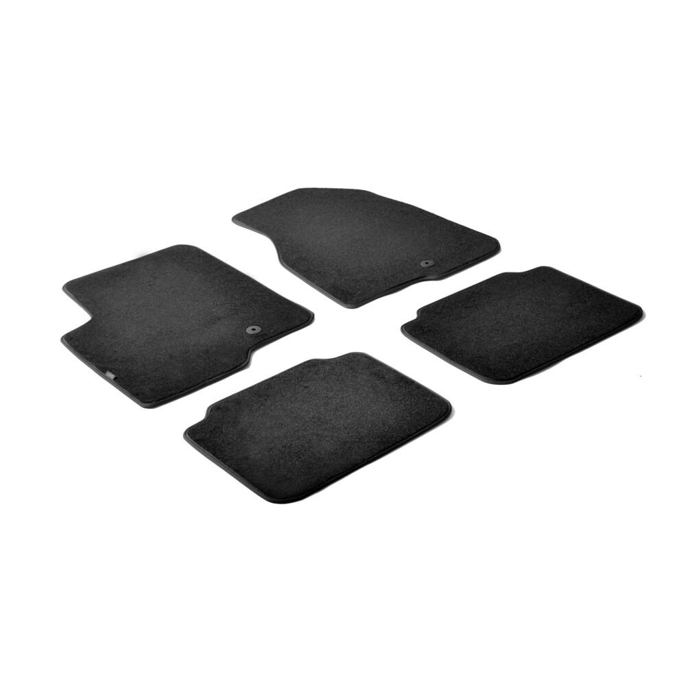 Set tappeti su misura in moquette - Nero -  Chevrolet Captiva (07/06>09/15) -  Opel Antara (11/06>05/17)