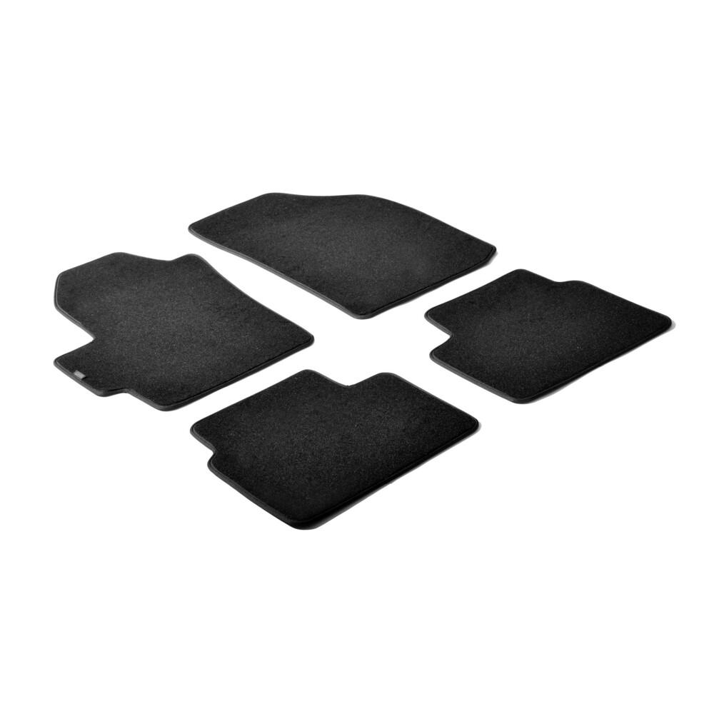 Set tappeti su misura in moquette - Nero -  Chevrolet Matiz (05/05>01/10)