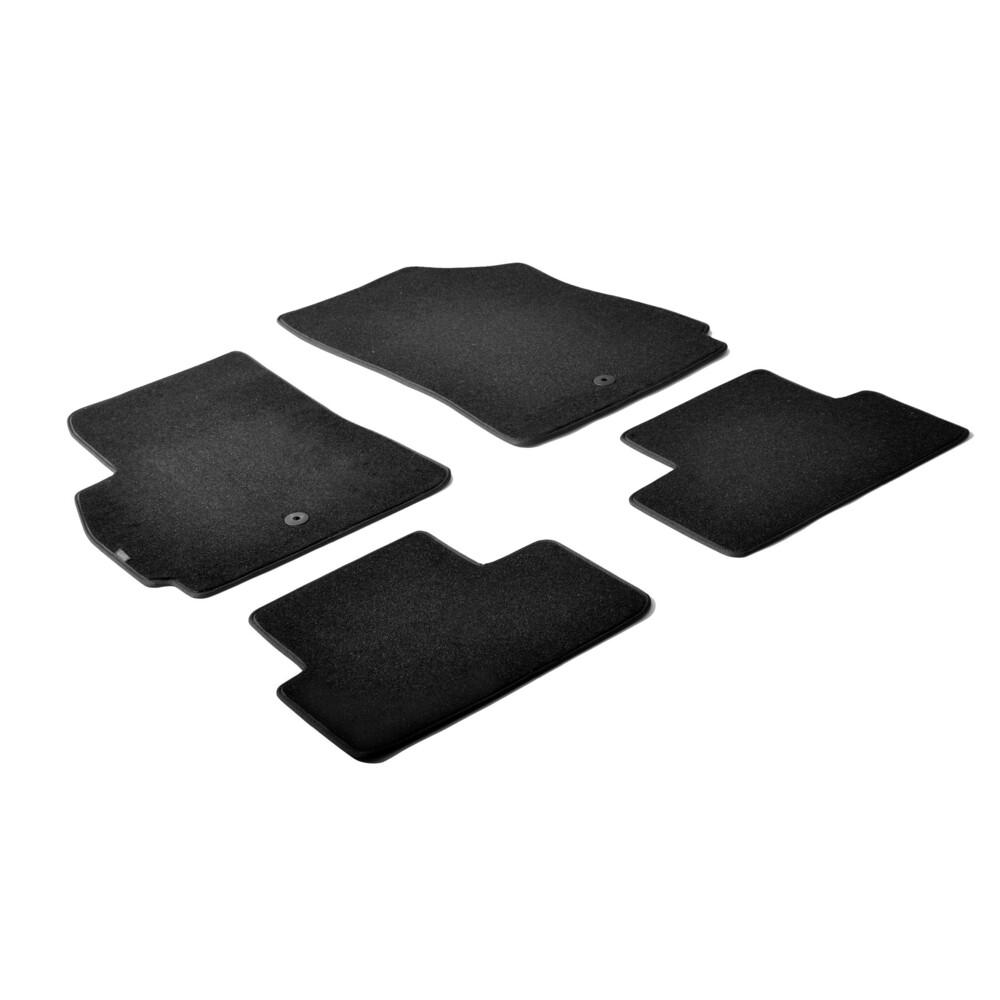 Set tappeti su misura in moquette - Nero -  Chevrolet Orlando (01/11>09/15)