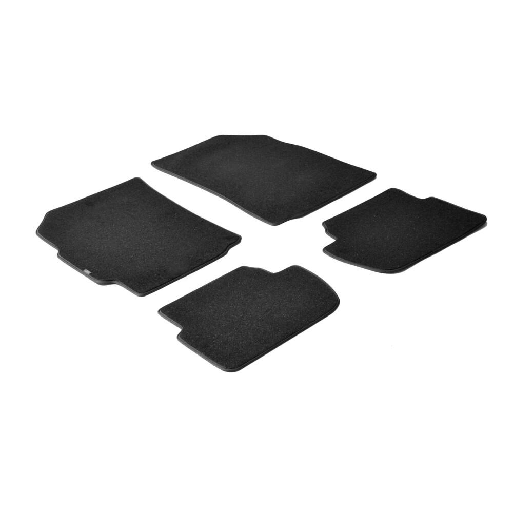 Set tappeti su misura in moquette - Nero -  Chevrolet Spark (02/10>09/15)