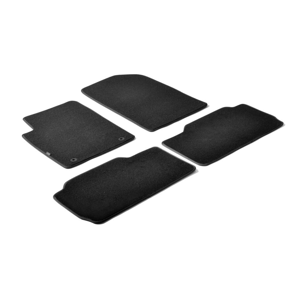 Set tappeti su misura in moquette - Nero -  Citroen Xsara Picasso (02/00>09/10)