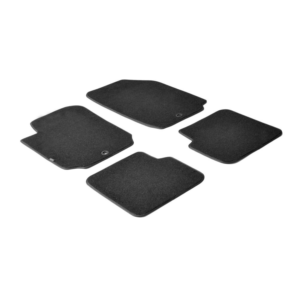 Set tappeti su misura in moquette - Nero -  Fiat Stilo 3p (01/02>12/07) -  Fiat Stilo 5p (01/02>12/07) -  Fiat Stilo Multiwagon