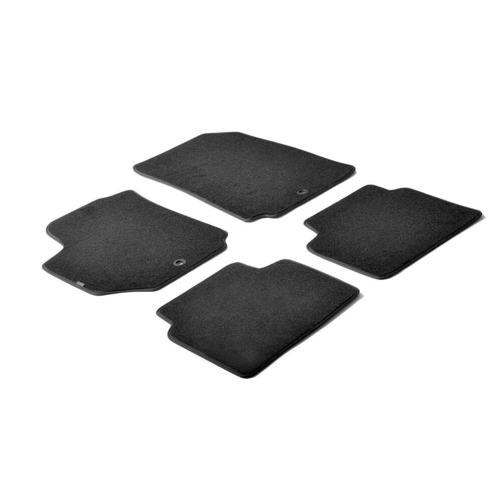 Set tappeti su misura in moquette - Nero -  Fiat Croma (05/05>04/11)