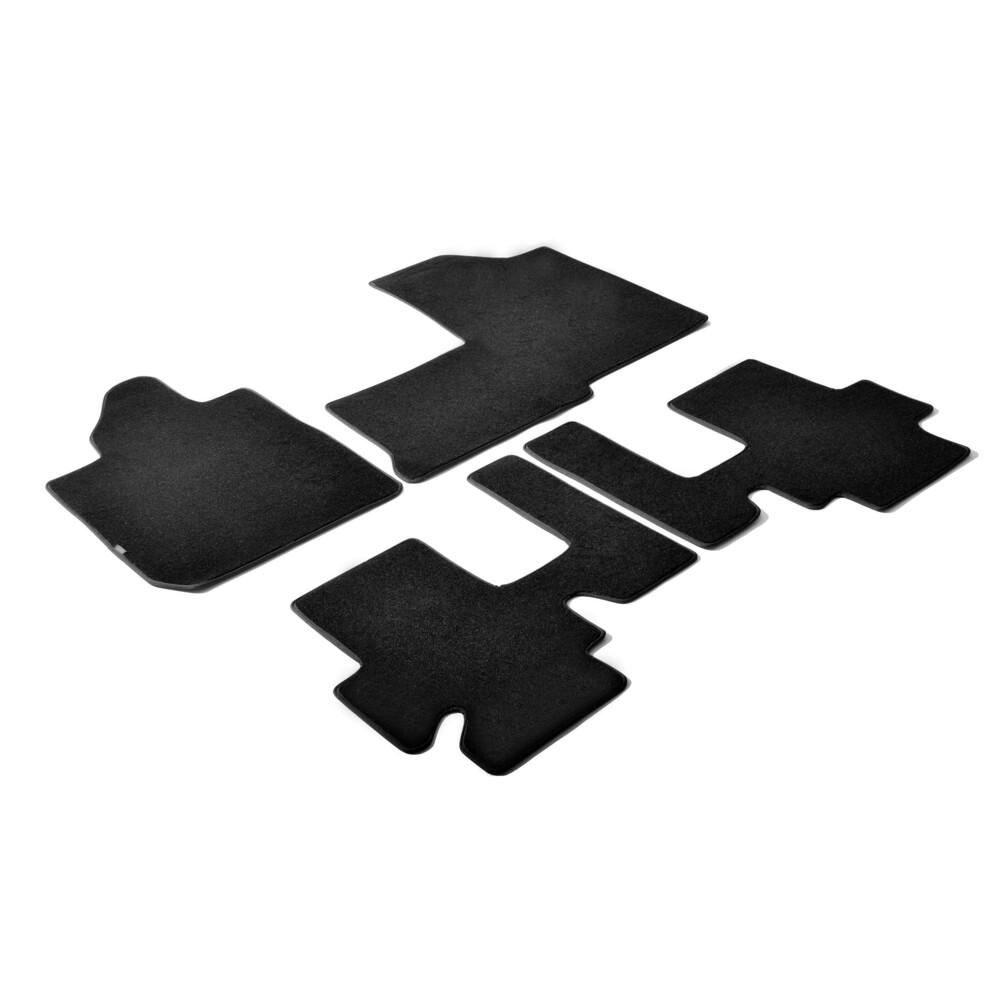Set tappeti su misura in moquette - Nero -  Fiat Multipla (11/98>05/04)