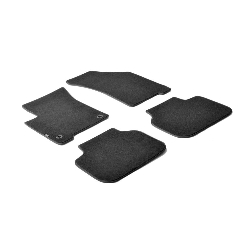 Set tappeti su misura in moquette - Nero -  Fiat Freemont (05/11>11/16)