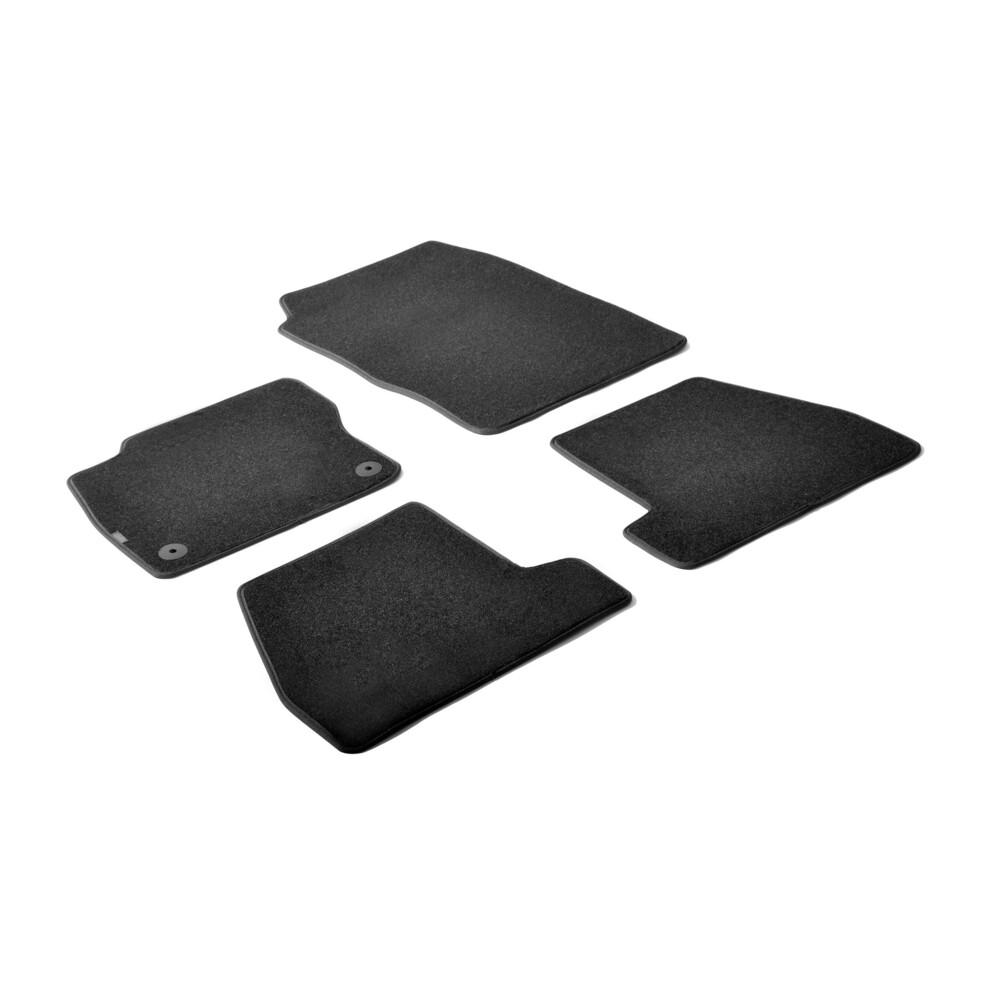 Set tappeti su misura in moquette - Nero -  Ford Focus 5p (03/11>10/14) -  Ford Focus 5p (11/14>) -  Ford Focus Wagon (06/11>10/