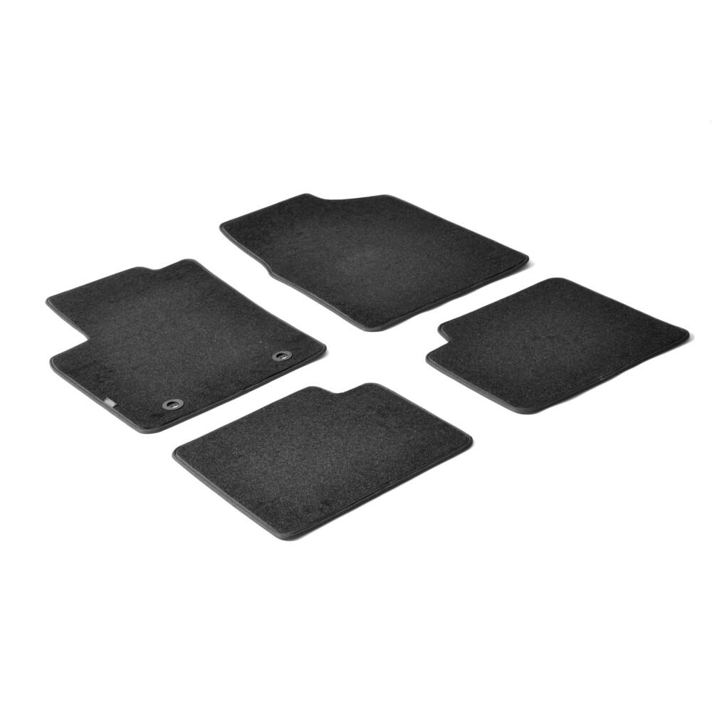 Set tappeti su misura in moquette - Nero -  Ford Ka (01/09>09/16)