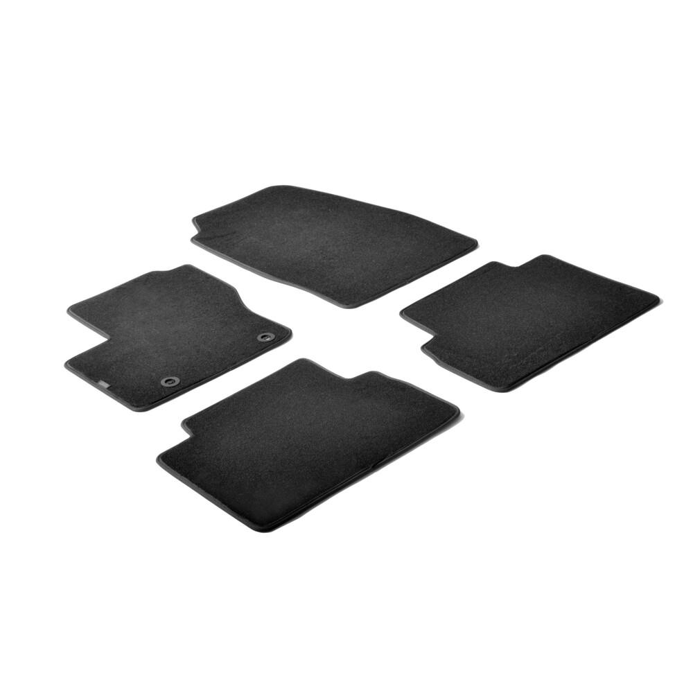 Set tappeti su misura in moquette - Nero -  Ford C-Max (11/10>03/15) -  Ford C-Max 7 (11/10>03/15)
