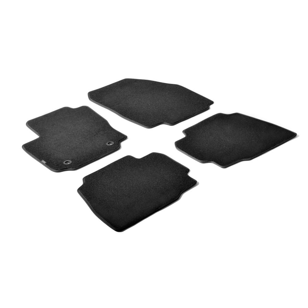 Set tappeti su misura in moquette - Nero -  Ford Mondeo 4p (05/07>10/14) -  Ford Mondeo 5p (05/07>10/14) -  Ford Mondeo Wagon (0