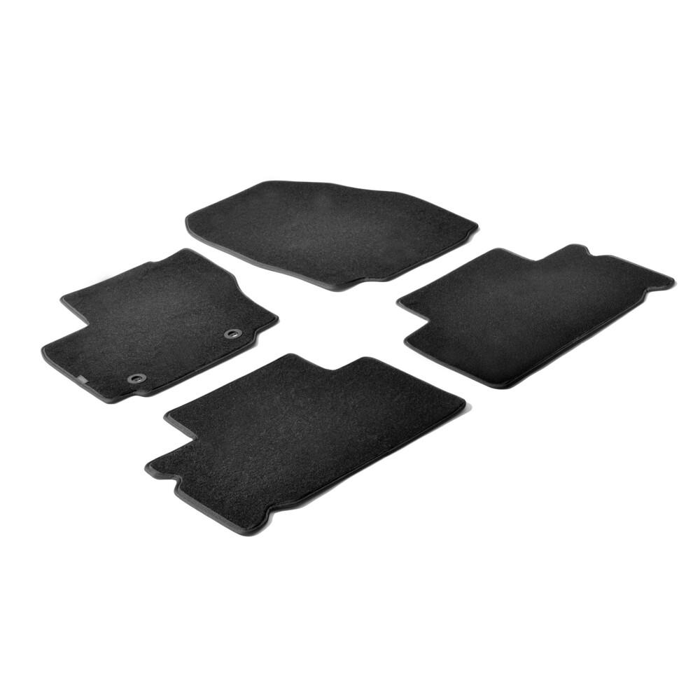 Set tappeti su misura in moquette - Nero -  Ford S-Max (06/06>03/10) -  Ford S-Max (04/10>09/15)