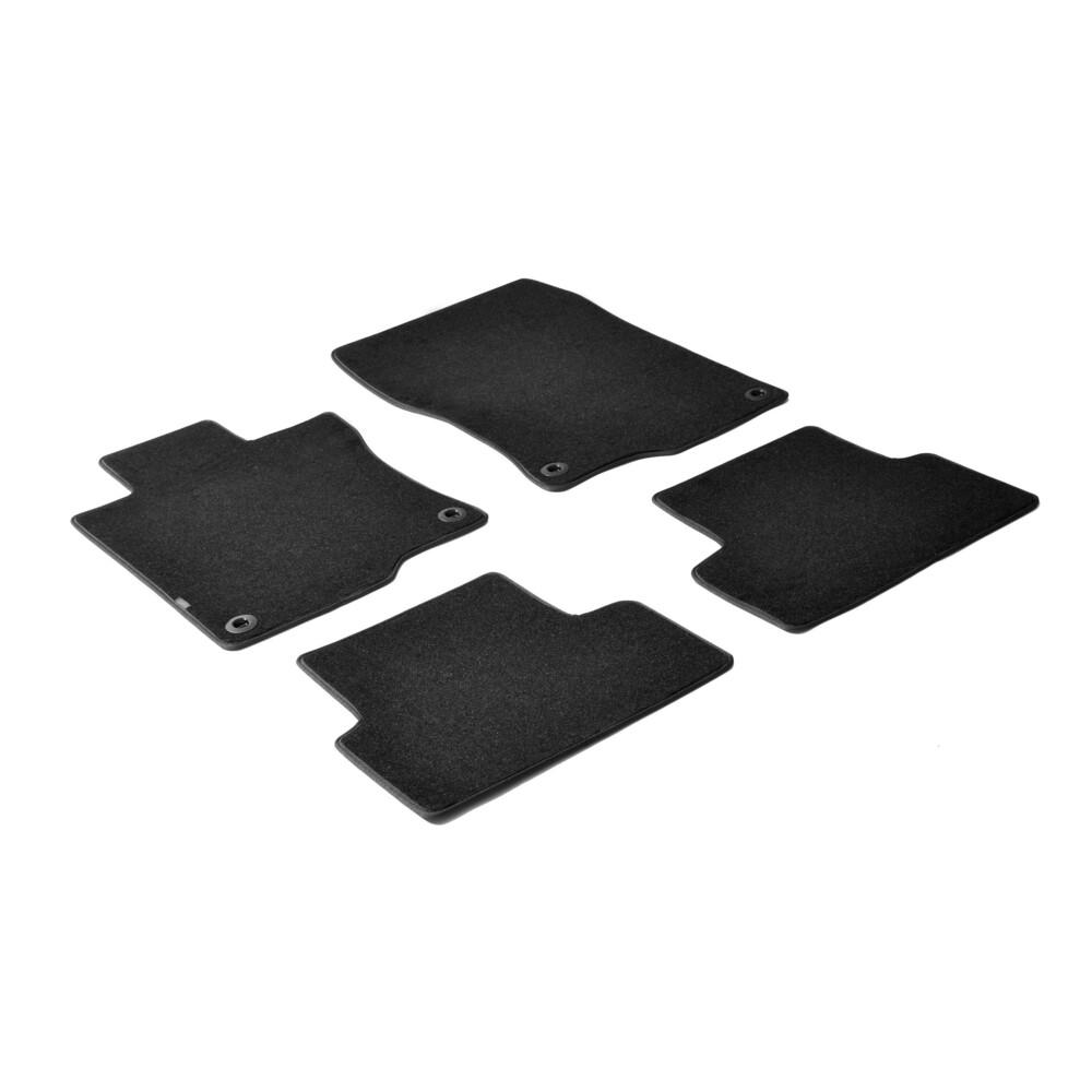 Set tappeti su misura in moquette - Nero -  Honda Accord 4p (06/08>11/11) -  Honda Accord 4p (12/11>09/14) -  Honda Accord Toure
