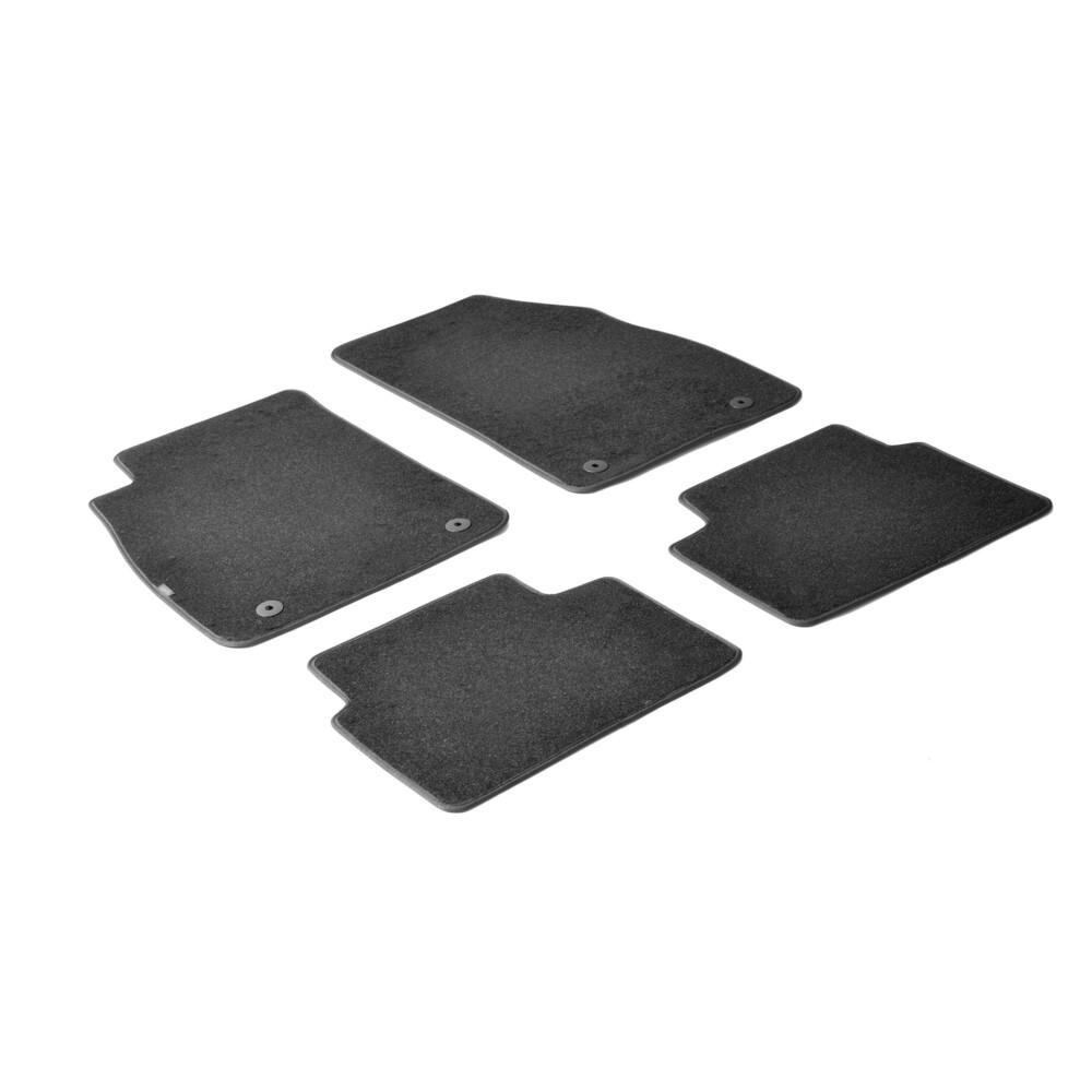 Set tappeti su misura in moquette -