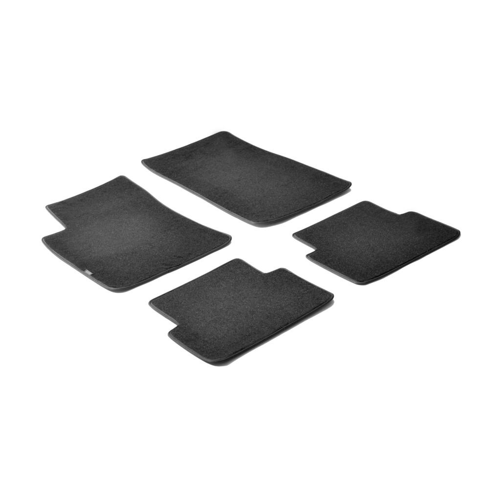 03-10 RENAULT MASTER Fully Tailored 1 Piece CARPET BLACK Car VAN Mat Set