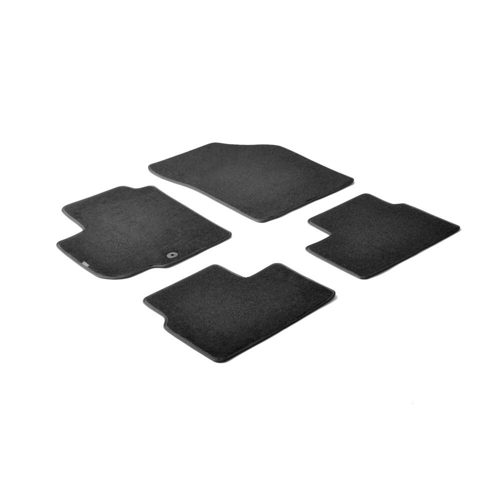 Set tappeti su misura in moquette - Nero -  Fiat Sedici (03/06>05/15) -  Suzuki Swift 3p (05/05>08/10) -  Suzuki Swift 5p (01/06