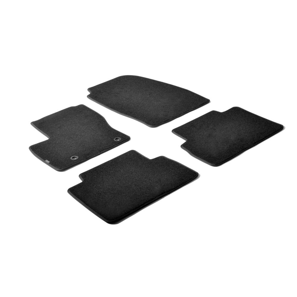Set tappeti su misura in moquette - Nero -  Ford C-Max (10/03>10/10)