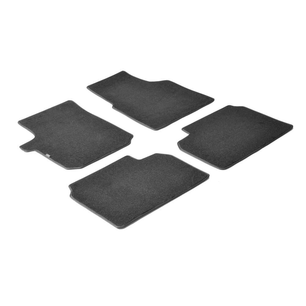 Set tappeti su misura in moquette - Nero -  Bmw Serie 3 (F30) 4p (02/12>) -  Bmw Serie 3 Touring (F31) (06/12>)