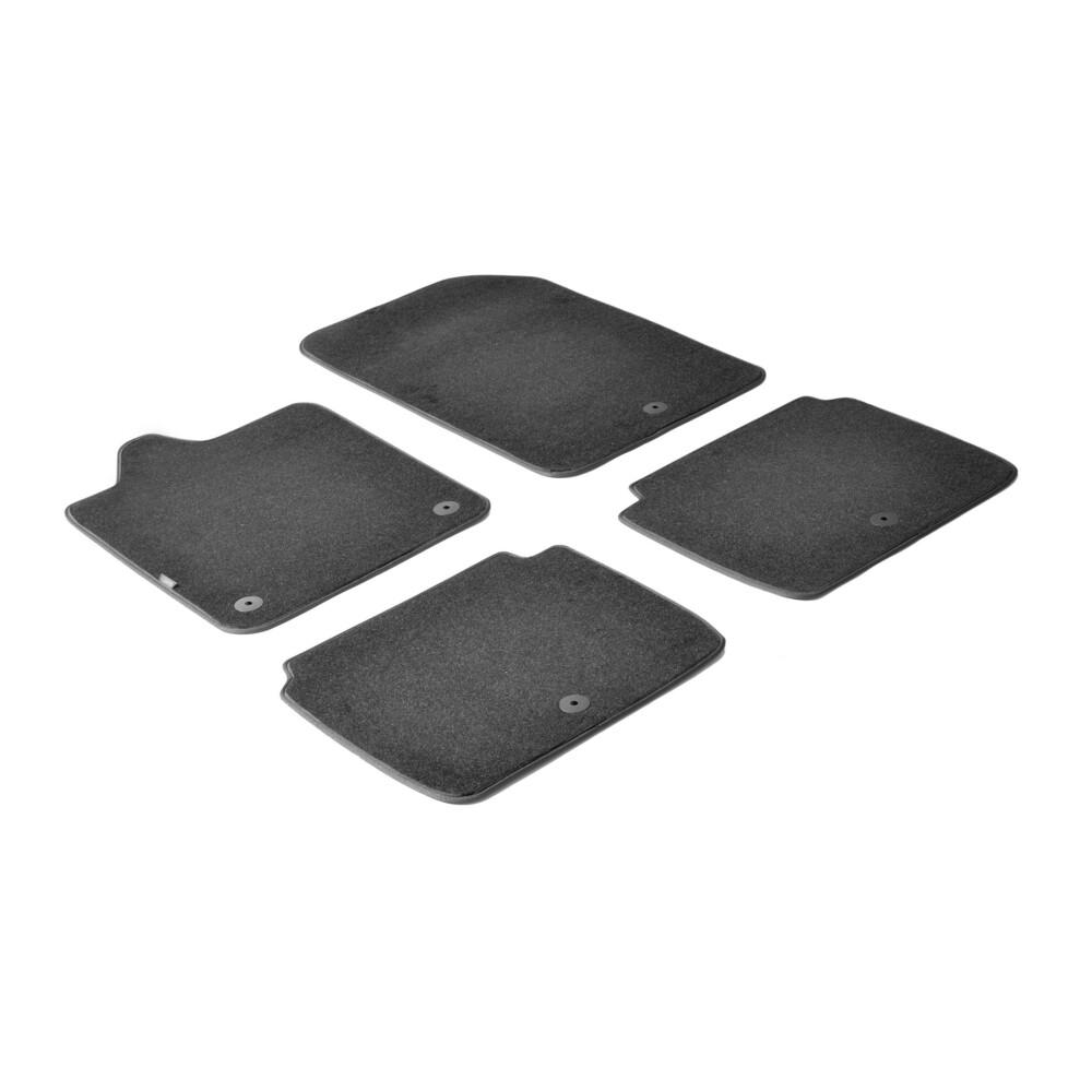 Set tappeti su misura in moquette - Nero -  Chevrolet Trax (03/13>09/15) -  Opel Mokka (11/12>03/16) -  Opel Mokka X (04/16>)