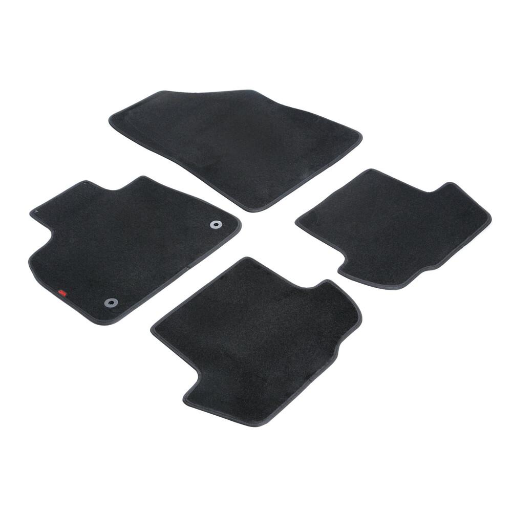 Set tappeti su misura in moquette - Nero -  Citroen DS5 (12/11>)