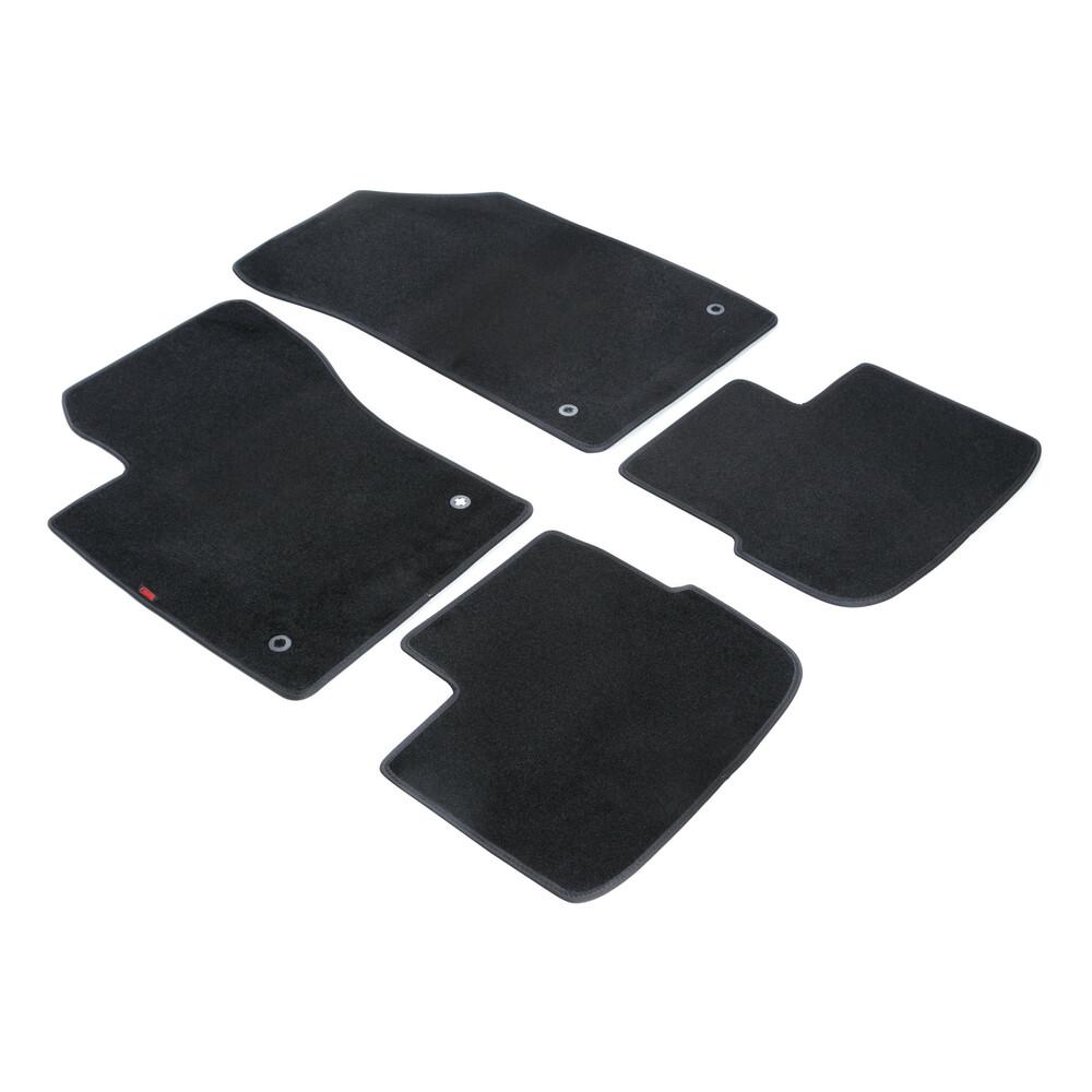 Set tappeti su misura in moquette - Nero -  Fiat Tipo 4p (12/15>)