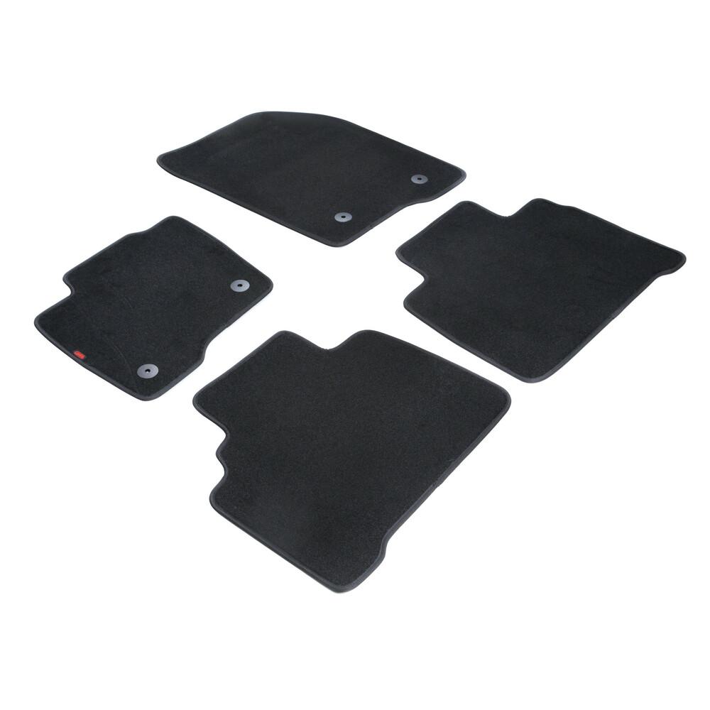Set tappeti su misura in moquette - Nero -  Ford S-Max (10/15>)