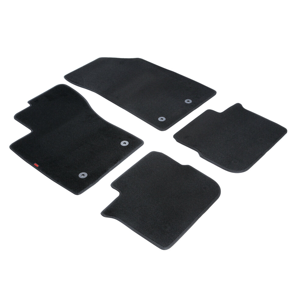 Set tappeti su misura in moquette - Nero -  Fiat Tipo 5p (05/16>) -  Fiat Tipo sw (09/16>)