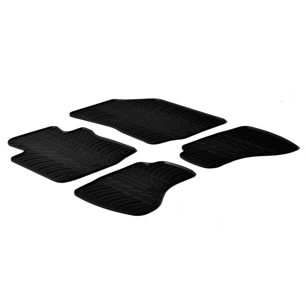Set tappeti su misura in gomma -  Citroen C1 3p (05/05>05/14) -  Citroen C1 5p (05/05>05/14) -  Peugeot 107 3p (07/05>02/12) -